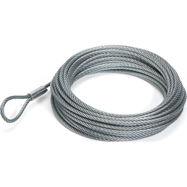 Трос лебедки стальной 15 м Replacement Wire Rope